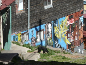 Valparaiso Chile graffiti 3 @journeylism.nl
