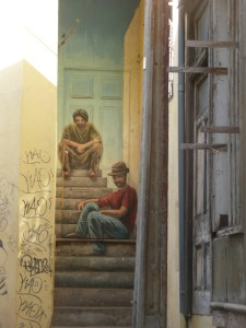 Valparaiso Chile trompe l'oeil 1 @journeylism.nl
