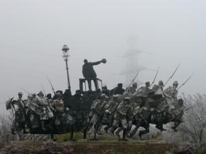 memento park budapest hungary amazing statue @ journeylism.nl