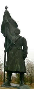memento park budapest hungary huge statue @ journeylism.nl