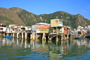 Stilted houses of Tai O