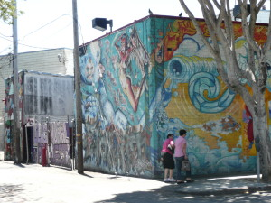 the mission district san francisco murals and graffiti 1 @ journeylism.nl