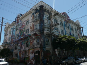the mission district san francisco murals and graffiti 10 @ journeylism.nl