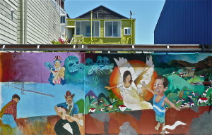 the mission district san francisco murals and graffiti 4 @ journeylism.nl