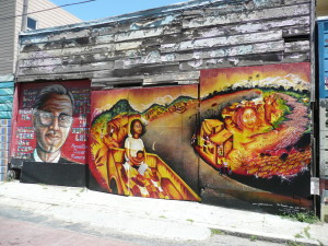 the mission district san francisco murals and graffiti 7 @ journeylism.nl