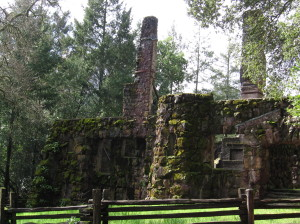 Wolf House ruins