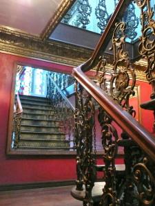 staircase museo de arte contemporaneo la paz bolivia @ journeylism.nl