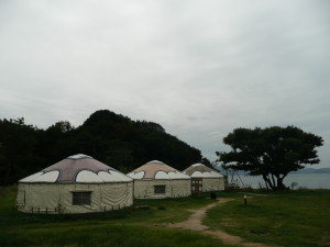 Yurts for hire