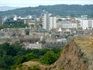 The Old School seen from Arthur's Seat