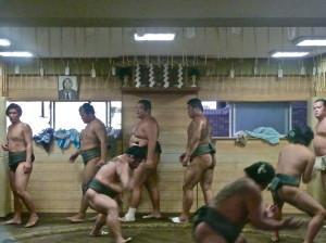 ryogoku sumo stables tokyo training @ journeylism.nl