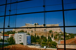 acropolis museum athens greece view on acropolis @ journeylism.nl