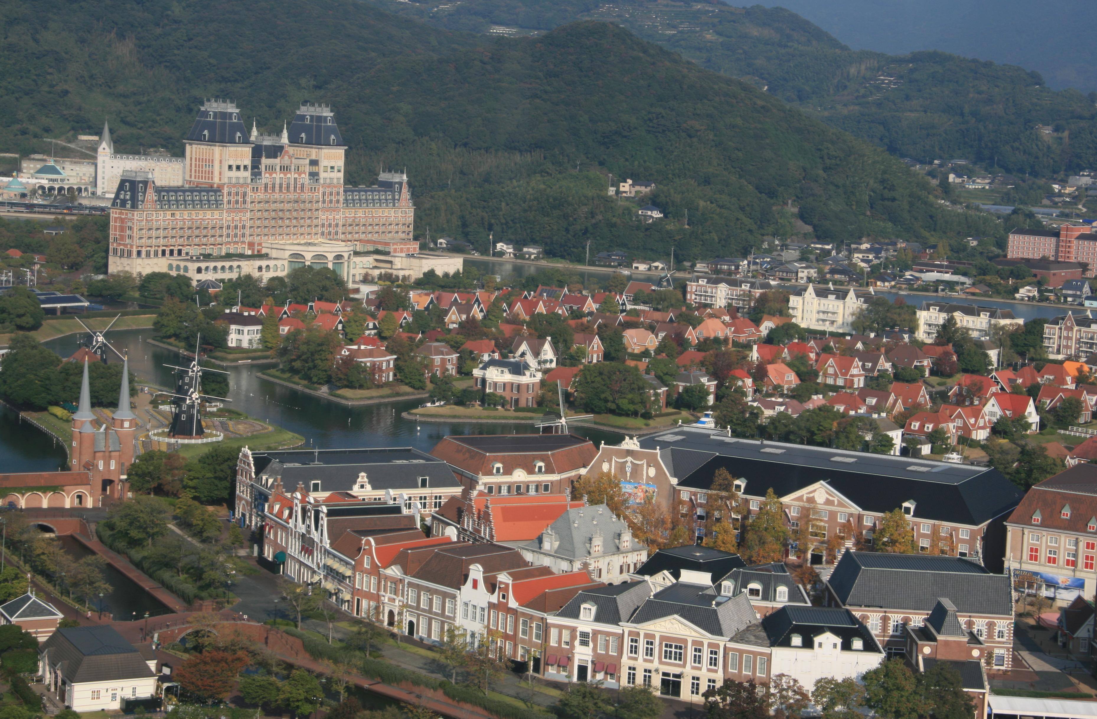 Dutch wonderland for Nagasaki huis ten bosch