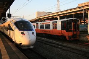 Huis ten Bosch train (r)