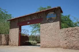 Entrance Quinta Adela
