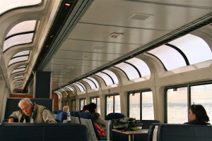 amtrak california zephyr panorama lounge car @ journeylism.nl