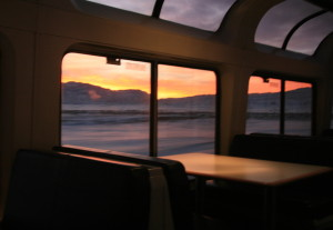 amtrak california zephyr sunrise lounge car @ journeylism.nl