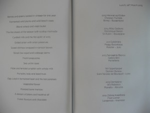 menu march 26 2015 lunch noma copenhagen @ journeylism.nl