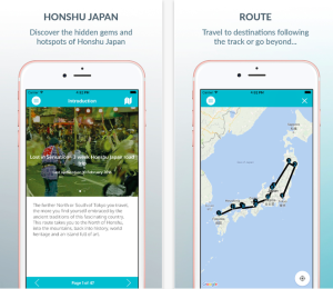 honshu japan favoroute road trip app by journeylism 1
